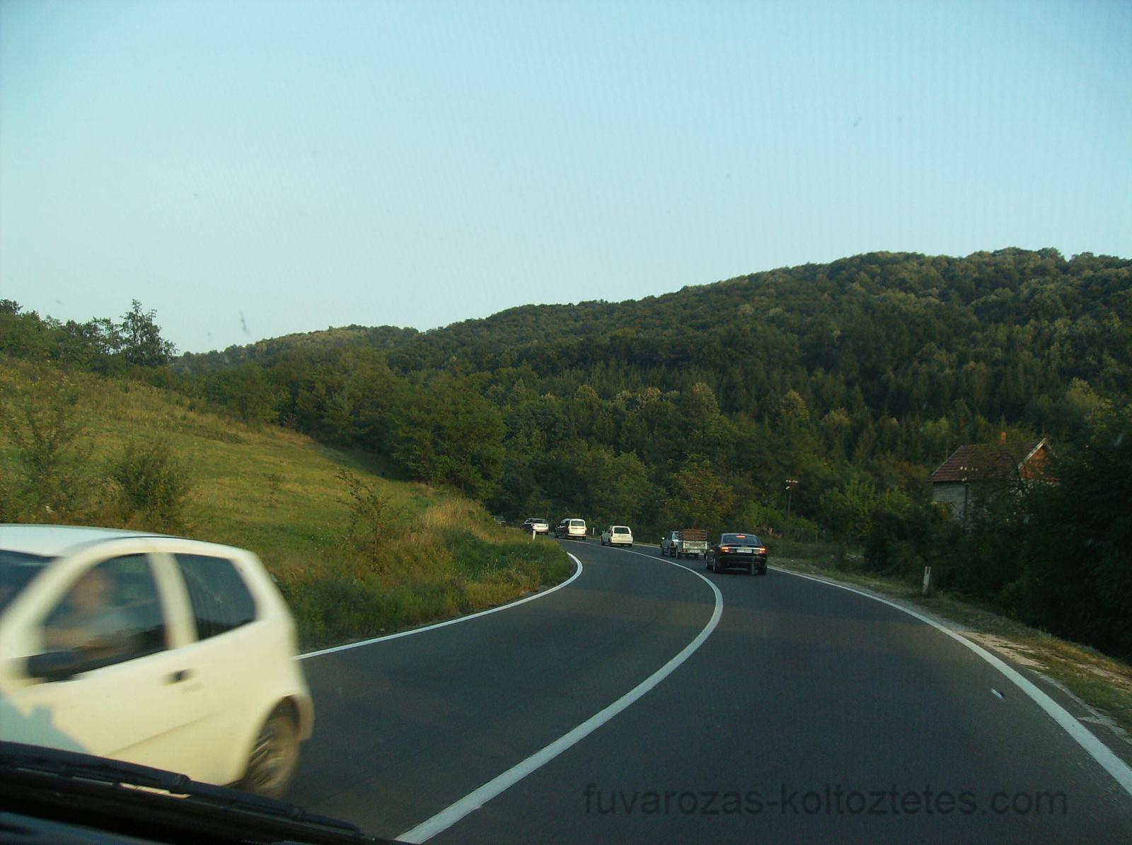 A Dinári-hegység lábánál, Szerbiában.