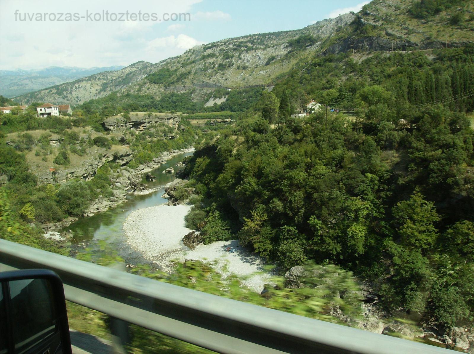 Szerbiában, a Dinári-hegységben.