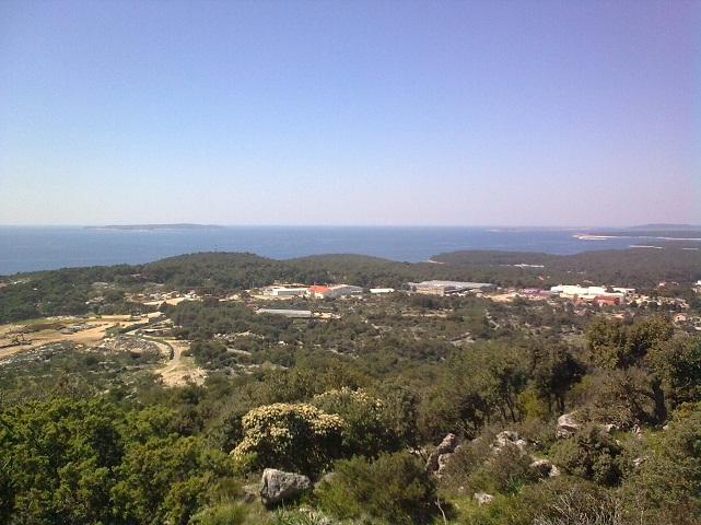 Horvátország, Mali Losinj magasból.