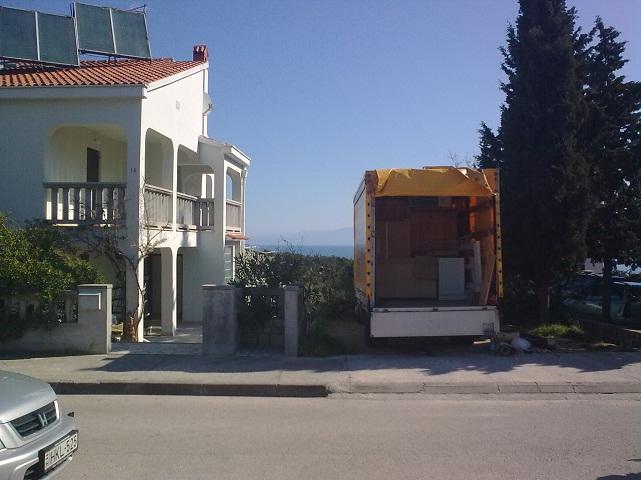 Nemzetközi költöztetés Horvátországba.