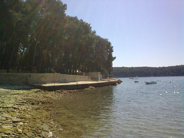 Horvátországban, az Adriai-tenger partján.