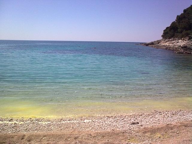 Mali Losinjban, az Adriai-tengerparton.