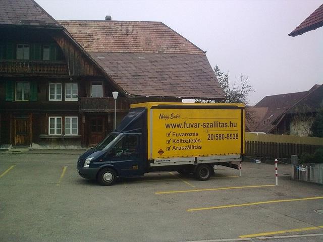 Pianínó szállítás Svájcba.
