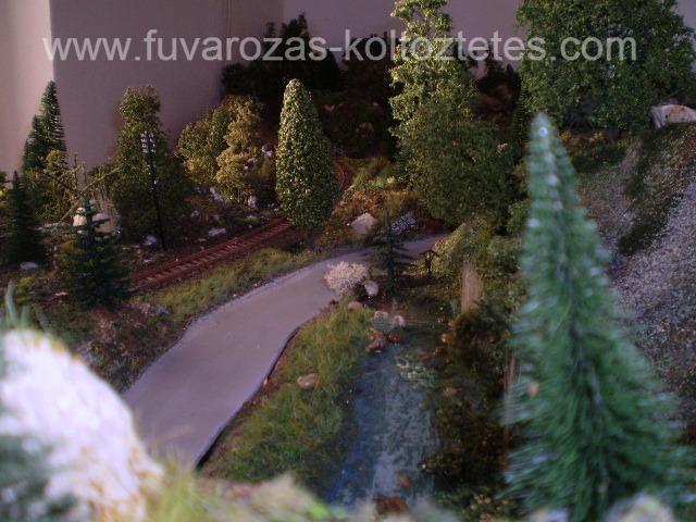 Vasútmodell kiállítás.