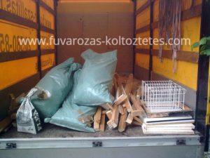 Lomelszállítás Budapesten.