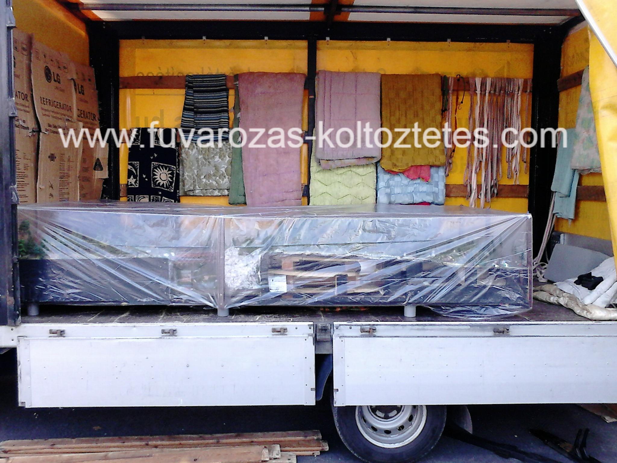 Terepasztal szállítás Budapesten