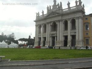 Róma, költöztetés közben.