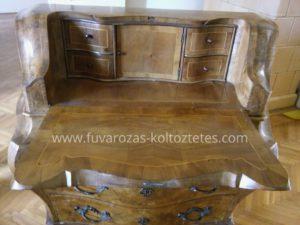 Antik bútorok szállítása Budapesten.
