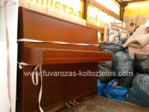 Pianínószállítás Budapesten.